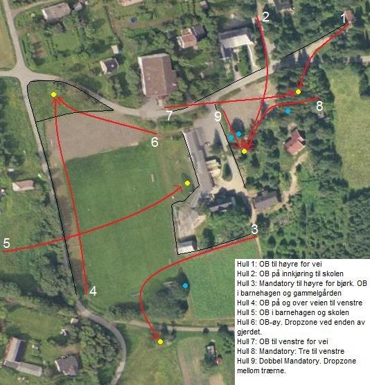 østre bolærne kart Frisbeegolfbaner | Frisbeegolf Norge østre bolærne kart